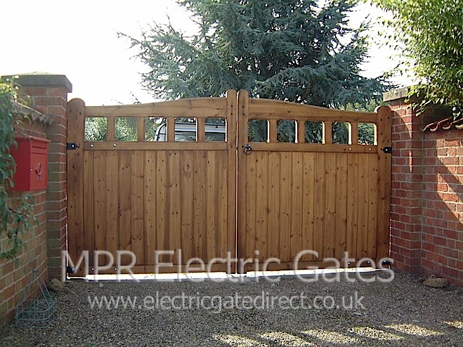 Electric Gates Direct Residential Wooden Gates Gallery