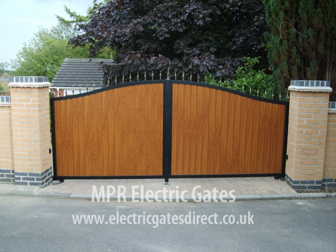 Electric Gates Direct Metal Amp Wooden Combined Gates Gallery