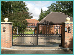 Electric Gates Direct Contact Wooden Gates Metal